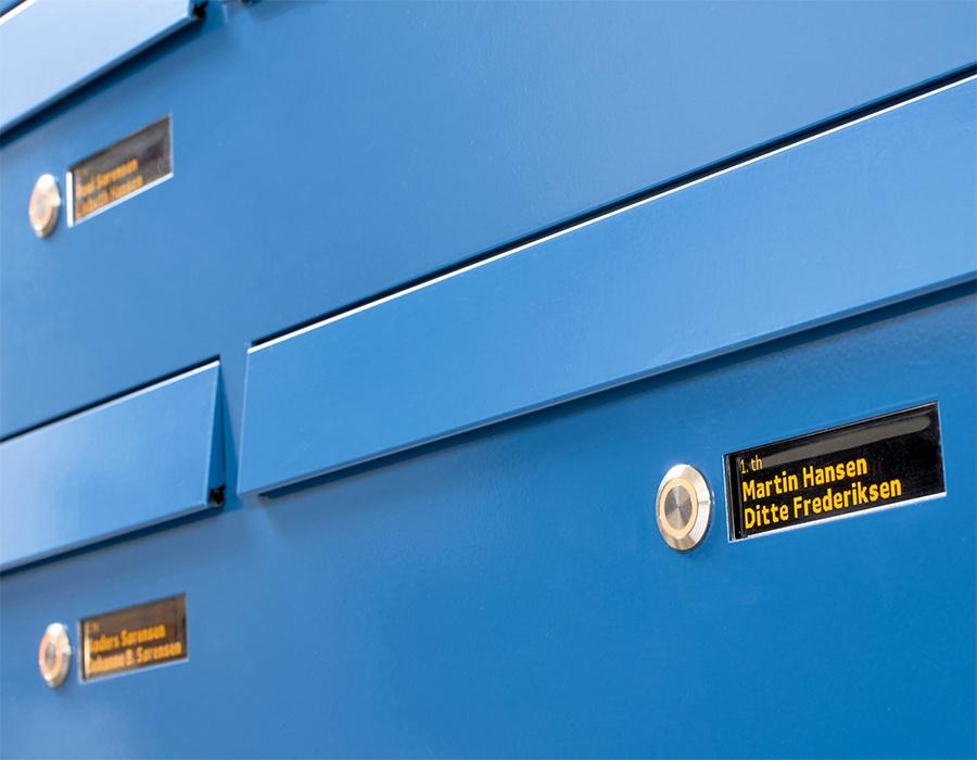 610 close up - Serie 610 med postkasser