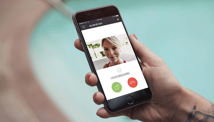 IP dørtelefoni med app