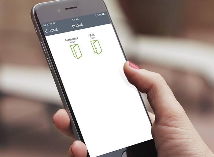MultiApp dørtelefon app