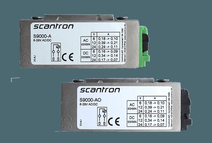 S9000 A label og AO label - Allround sikkerhedsslutblik