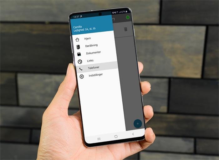 Smartphone med MultiApp menu - MultiApp®