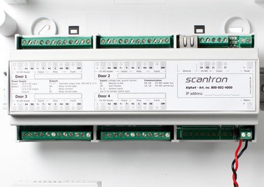 alpha central 520x370 - Adgangskontrolsystem