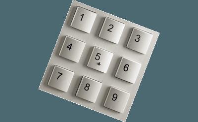 kodelås kodetastatur