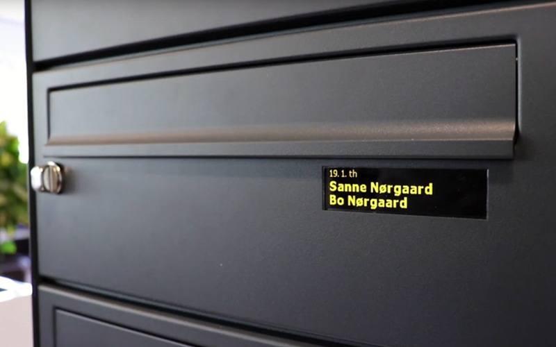 ep digital navne display - Serie 410/510D
