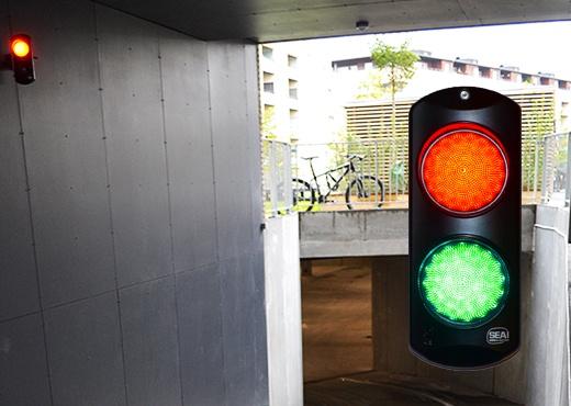 parkering trafiklys 520x370 - Adgangskontrolsystem