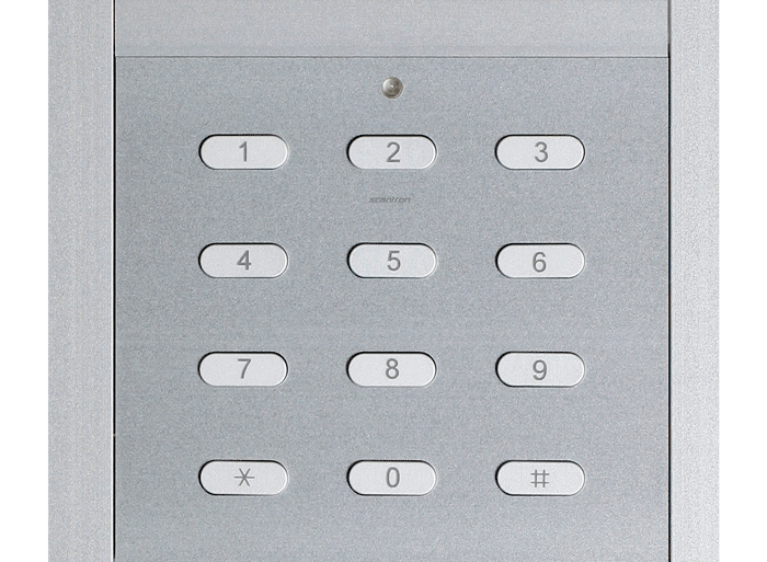 PES - Dørtelefon med kodetastatur