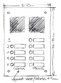 dørstation i rustfrit stål