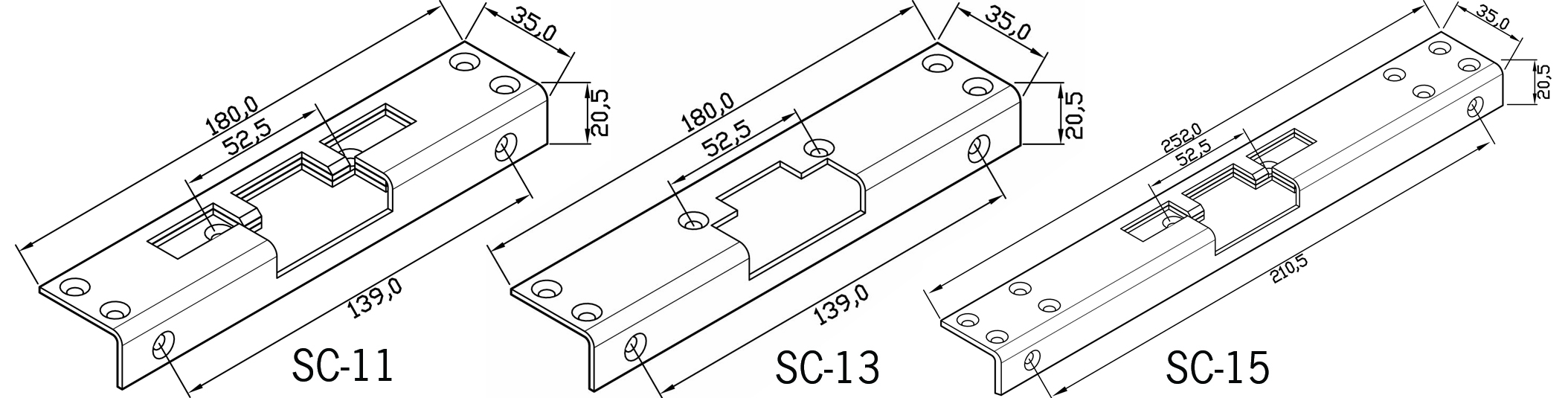 stolper sc11 15 - Allround sikkerhedsslutblik